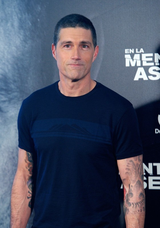 Matthew Fox, Madrid, 12 novembre 2012.