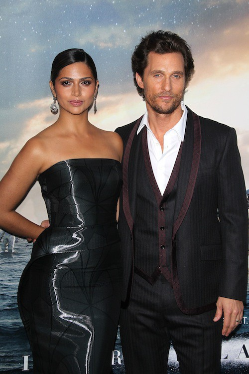 Photos : Matthew McConaughey et Camila Alves : déjà exténués par la promo d'Interstellar !
