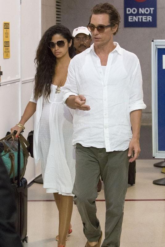 Matthew McConaughey et Camila Alves rentrent de vacances