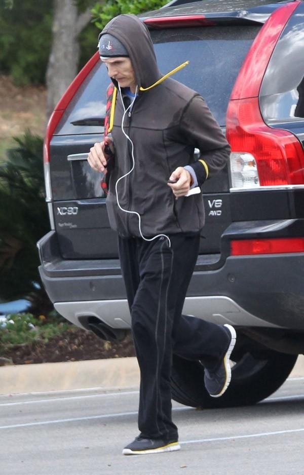 Matthew McConaughey plus maigre que jamais à Austin le 12 octobre 2012