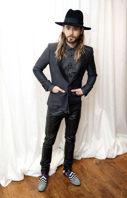"""Jared Leto lors de la première du film """"Dallas Buyers Club"""" à Londres, le 29 janvier 2014."""