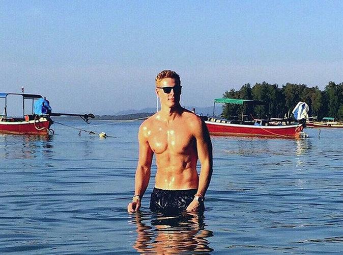 Matthieu Delormeau est sexy à souhait en Thaïlande
