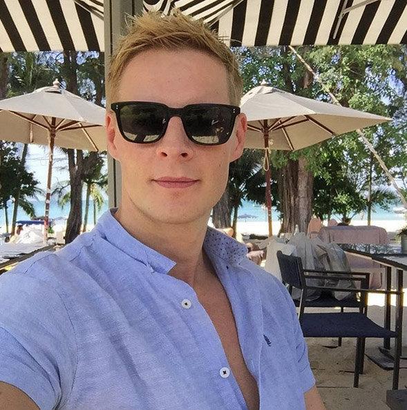 Matthieu Delormeau s'est éclaté en Thaïlande