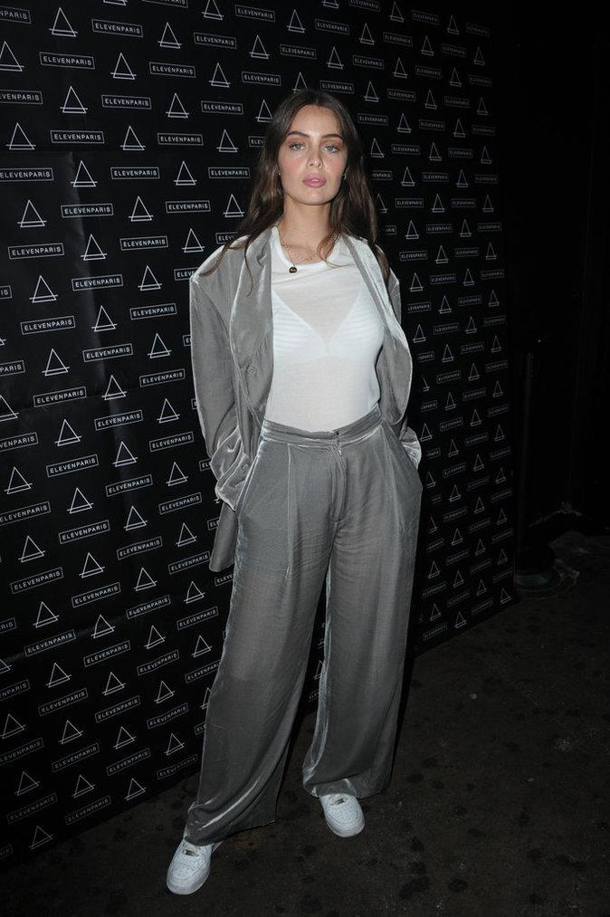 Marie-Ange Casta à la soirée Eleven Paris