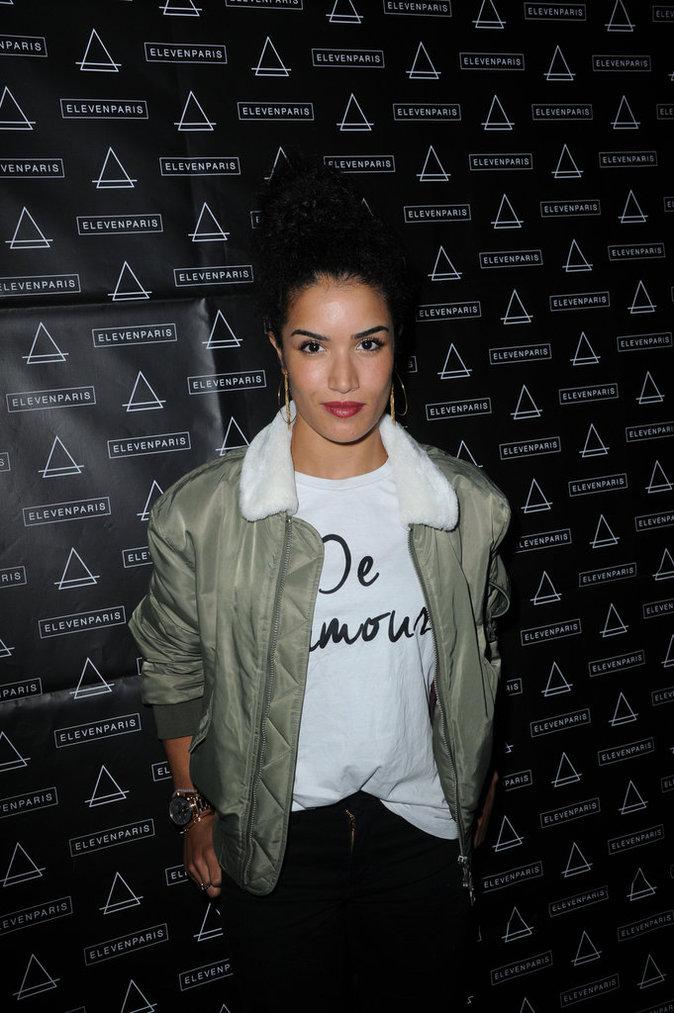 Sabrina Ouazani à la soirée Eleven Paris