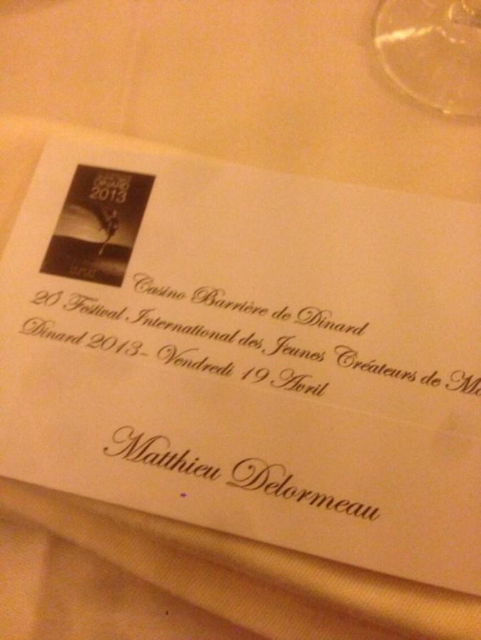 L'invitation pour le Festival !