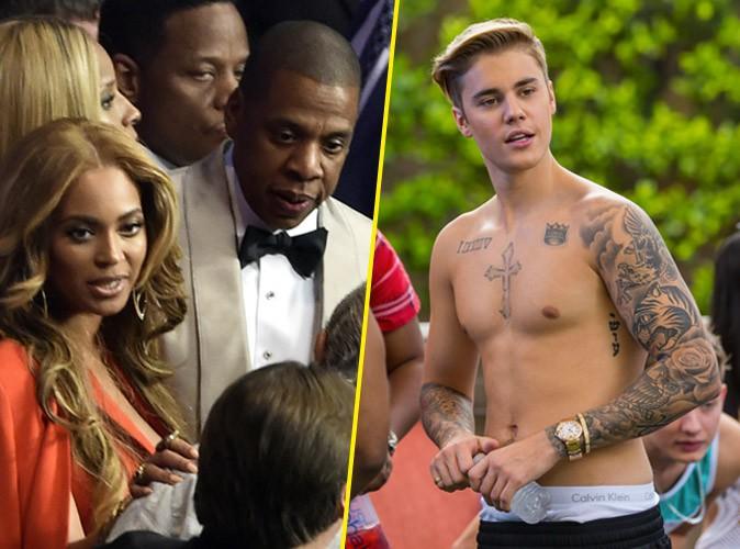 Photos : Mayweather vs Pacquiao : Jay-Z et Beyoncé, Justin Bieber… le combat du siècle attire les stars !