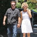 Meg Ryan et John Mellencamp dans les rues de Los Angeles