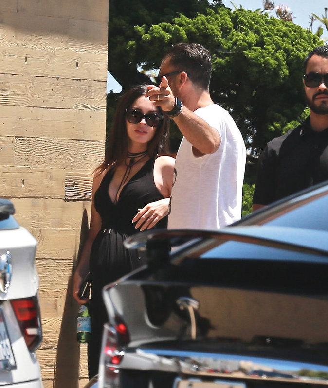 Brian Austin Green et Megan Fox en route pour un déjeuner à Malibu