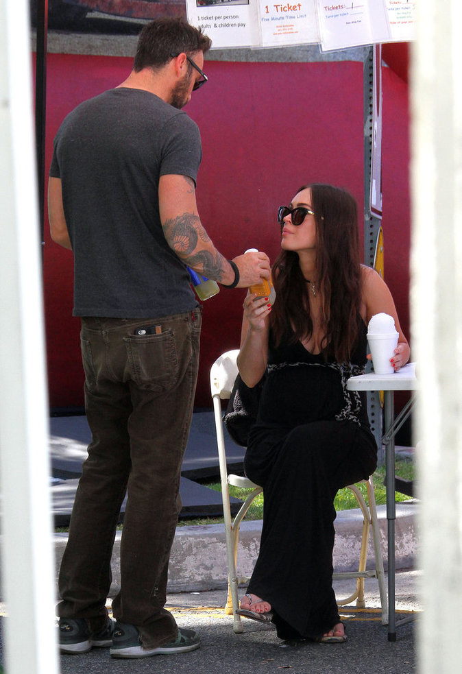 Megan Fox et Brian Austin Green à studio City le 17 avril 2016