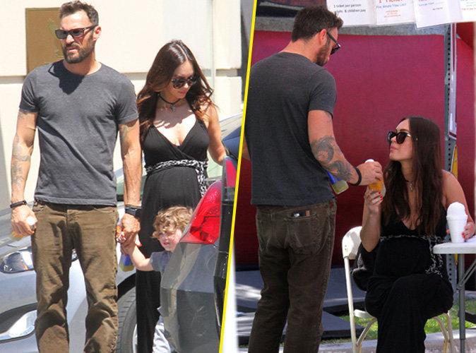 Megan Fox et Brian Austin Green : elle dévoile son baby-bump aux côtés de son mari !