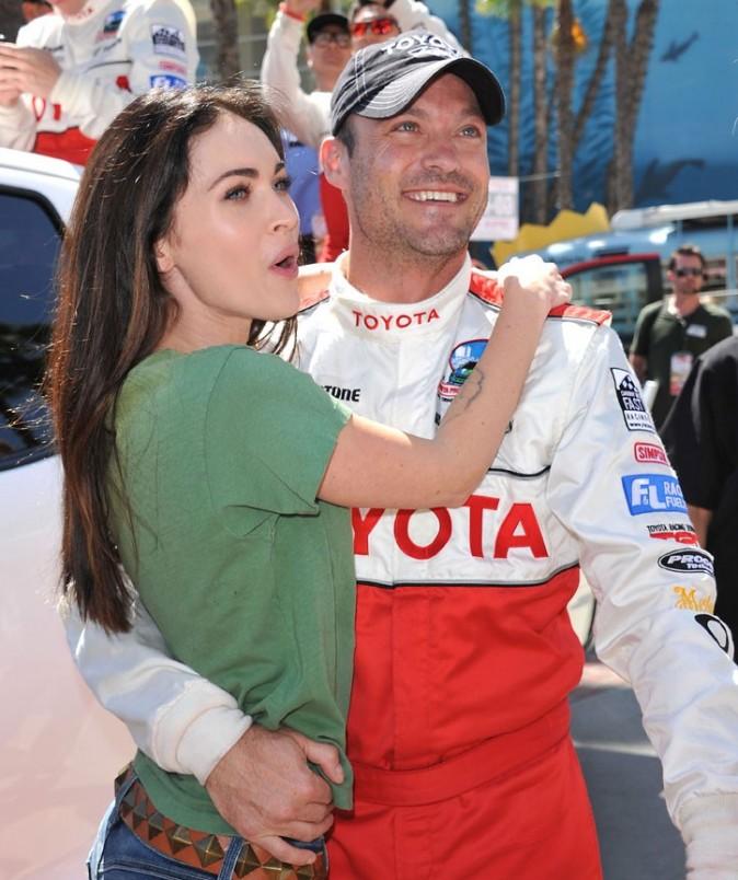 Brian Austin Green a perdu la course, mais pas l'amour de Megan Fox !