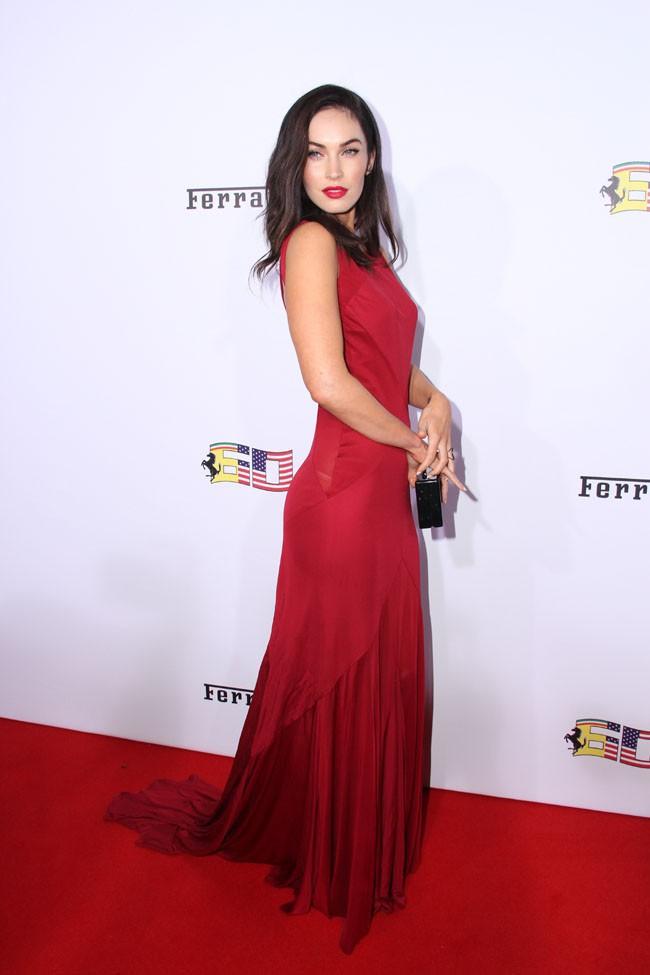 Megan Fox aux 60 ans de Ferrari célébrés le 11 octobre 2014 à Beverly Hills