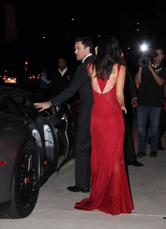 Megan Fox et Brian Austin Green aux 60 ans de Ferrari célébrés le 11 octobre 2014 à Beverly Hills
