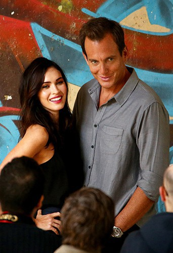 Megan Fox et Will Arnett à Sydney le 8 septembre 2014
