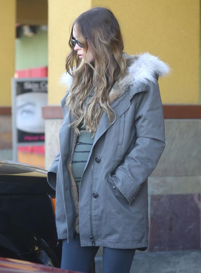 Megan Fox à Studio City le 6 décembre 2013