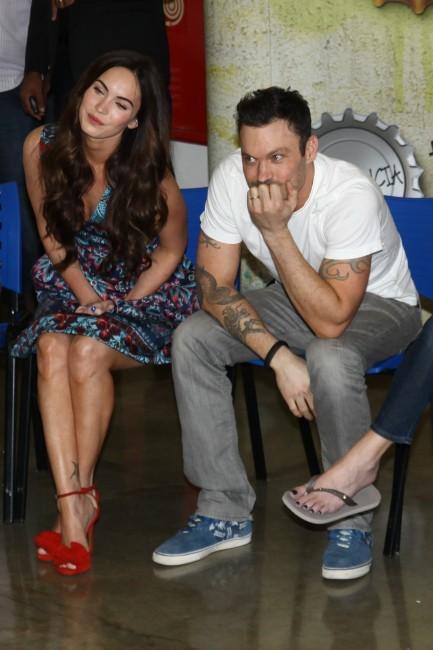 Megan Fox et Brian Austin Green, Sao Paulo, 9 février 2013