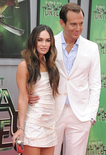 Megan Fox et Will Arnett à Los Angeles le 3 août 2014
