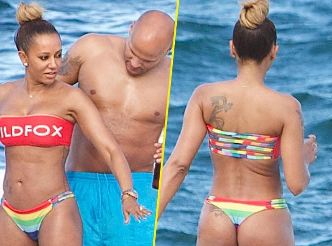 Mel B : booty bien en vue pour une sortie en mer avec son homme sous le soleil de Sydney !