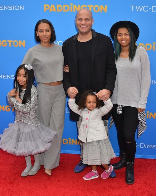 Photos : Mel B : sa famille au complet et unie pour mettre fin au scandale !