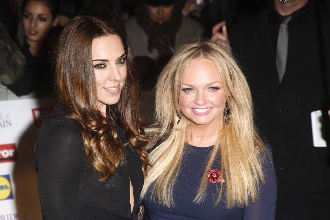 Melanie Chisholm et Emma Bunton lors de la soirée Daily Mirror's 2012 Pride of Britain Awards à Londres, le 29 octobre 2012.