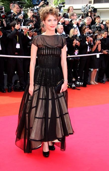 En 2008 à Cannes, pas toujours bien conseillée par ses stylistes...