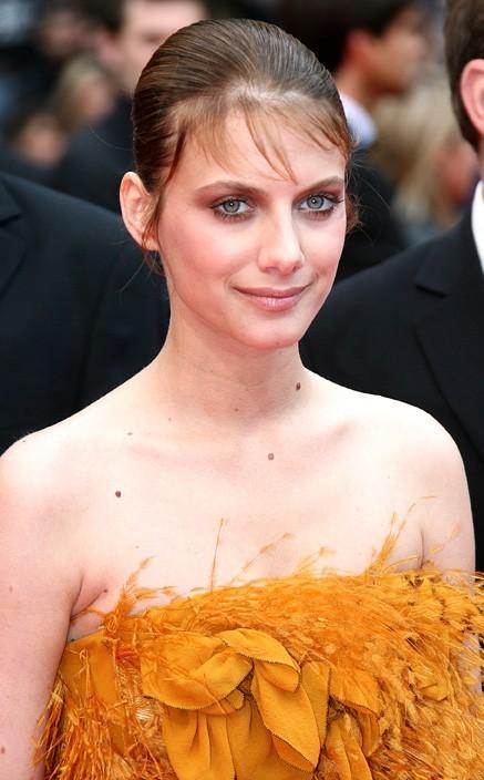 """...Mais elle a aussi eu des """"bad hair days"""", comme en 2008..."""