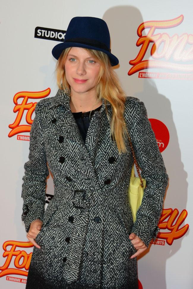 Mélanie Laurent à l'avant-première de Fonzy à Paris le 25 octobre 2013