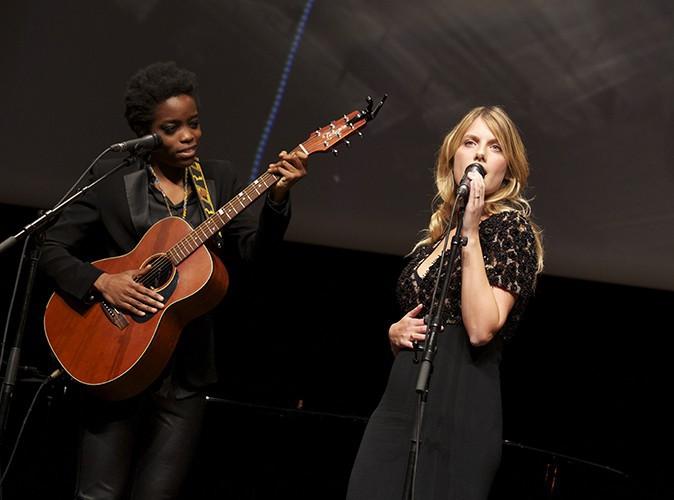 Mélanie Laurent à Lyon le 18 octobre 2013