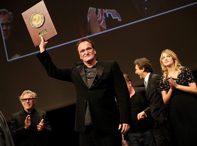 Quentin Tarantino à Lyon le 18 octobre 2013