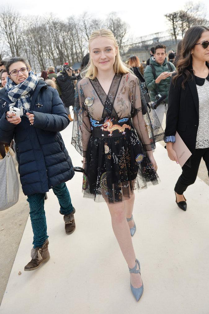 Photos : Mélanie Thierry, Olivia Palermo, Dakota Fanning : belles de jour chez Valentino !