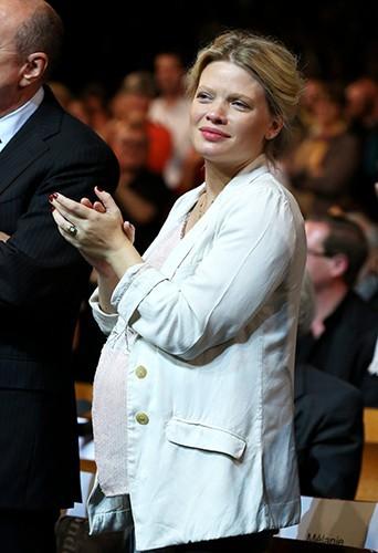 Mélanie Thierry à Lyon le 14 octobre 2013