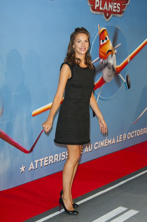 Mélissa Theuriau à l'avant-première de Planes à Paris le 24 septembre 2013