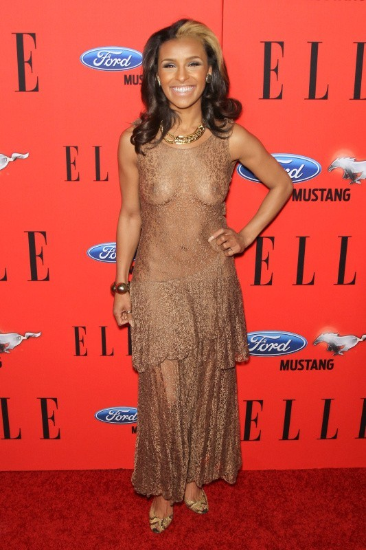 Melody Thornton lors de la soirée Elle's Women In Music à Los Angeles, le 11 avril 2012.