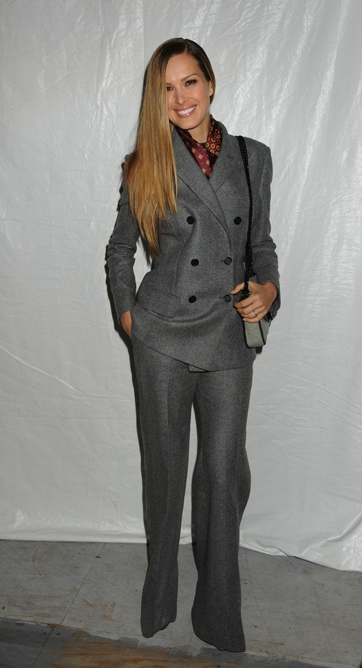 Petra Nemcova au défilé Tommy Hilfiger à New York, le 11 septembre 2011.