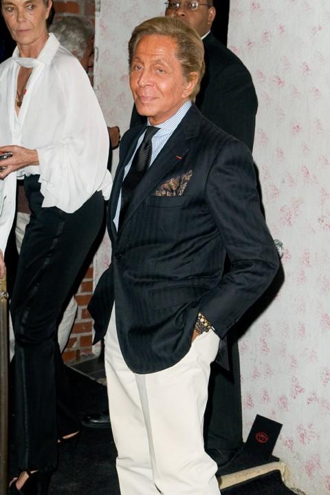 Valentino lors du défilé Barneys New York à New York, le 10 septembre 2011.