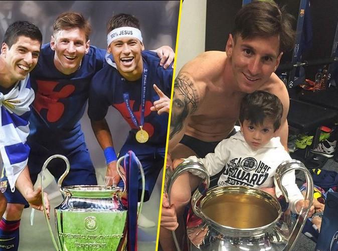 Photos : Messi, Suarez, Neymar... La team gagnante de la Ligue des Champions !