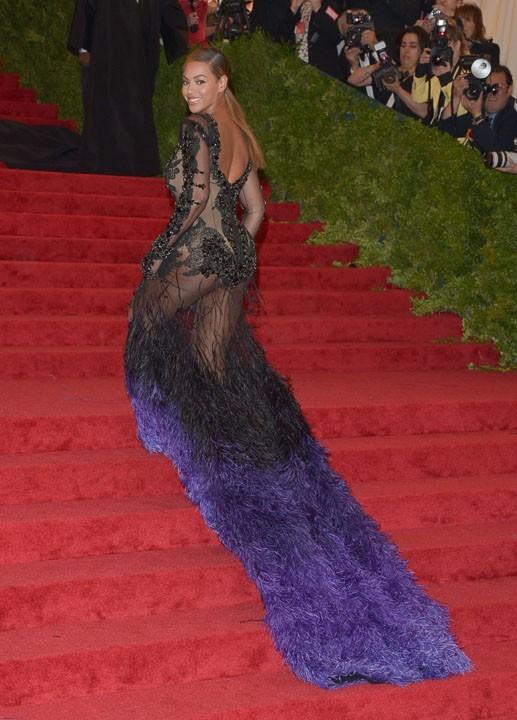 Beyoncé au MET Ball le 7 mai 2012