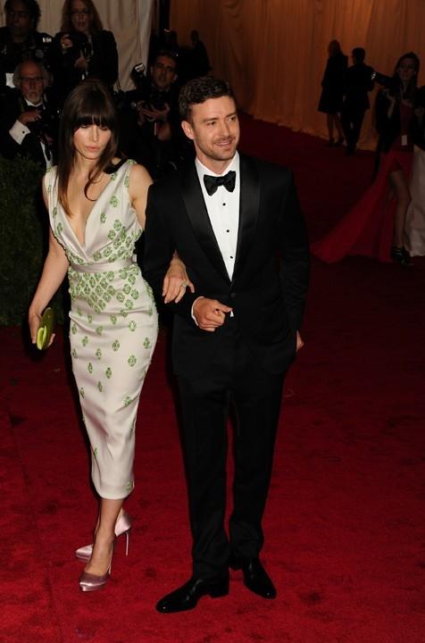 Jessica Biel et Justin Timberlake au MET Ball 2012 !