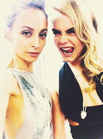 Nicole Richie et Cara Delevingne !