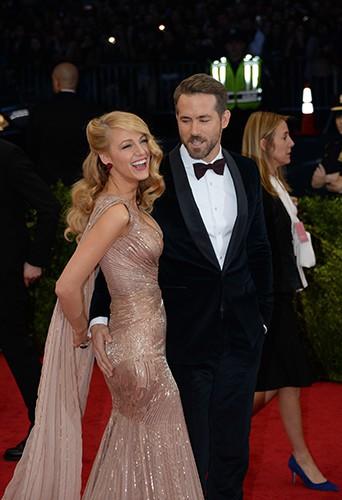 Blake Lively et Ryan Reynolds à New York le 5 mai 2014