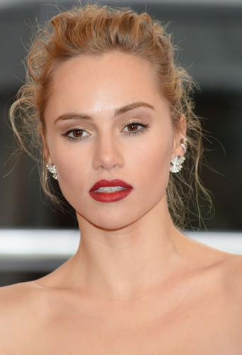 Suki Waterhouse à New York le 5 mai 2014