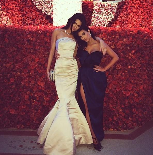 Kendall Jenner au MET Ball organisé le 5 mai 2014 à New-York