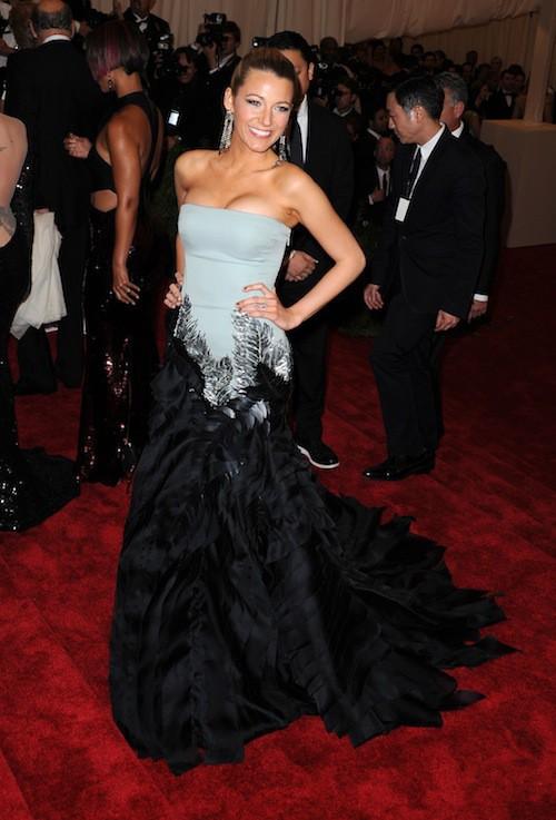 Blake Lively lors du Met Ball de 2013
