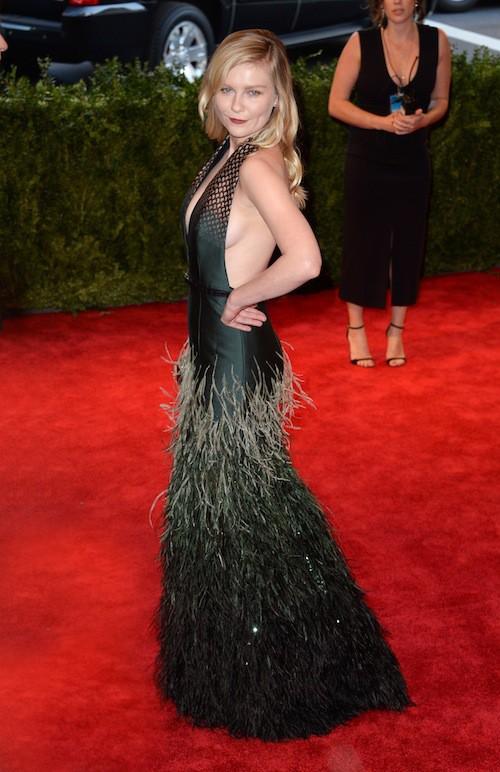 Kirsten Dunst lors du Met Ball de 2013