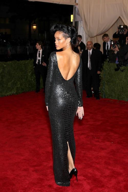 Rihanna lors du Met Ball de 2012