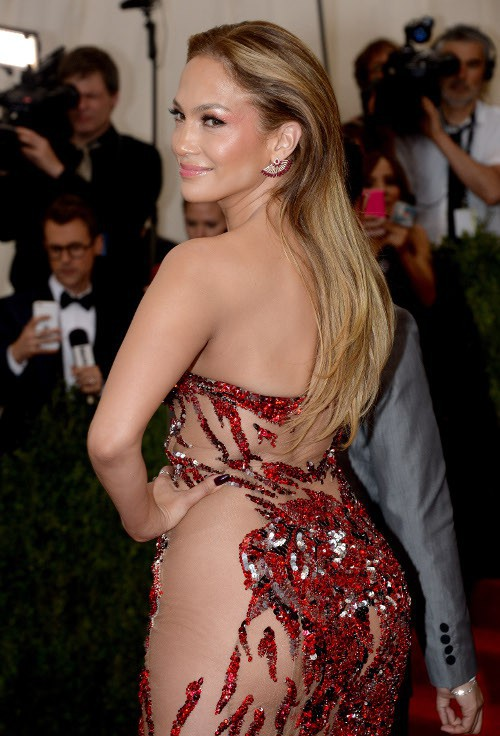 Jennifer Lopez au Met Gala le 4 mai 2015