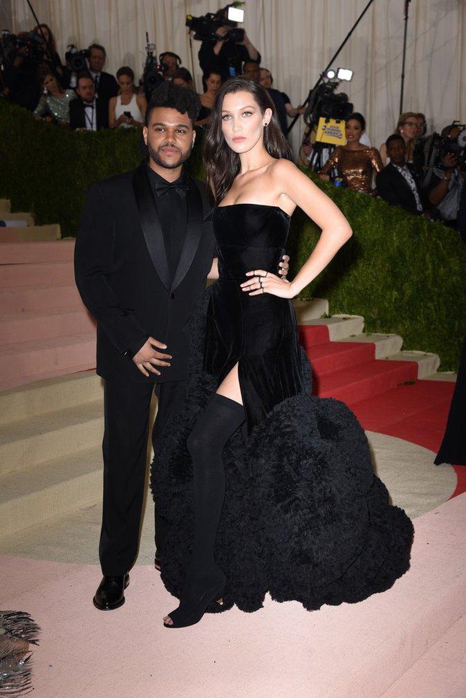Bella Hadid et The Weeknd au gala du Met ce lundi 2 mai