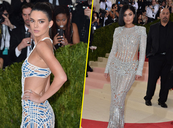 "Photos : Met Gala 2016 : Kendall et Kylie : les sœurs Jenner nous en ""MET"" plein la vue!"