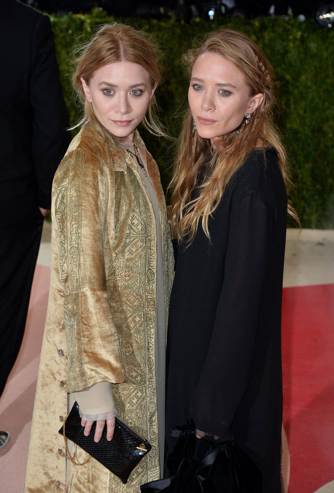 Les soeurs Olsen au gala du Met ce lundi 2 mai